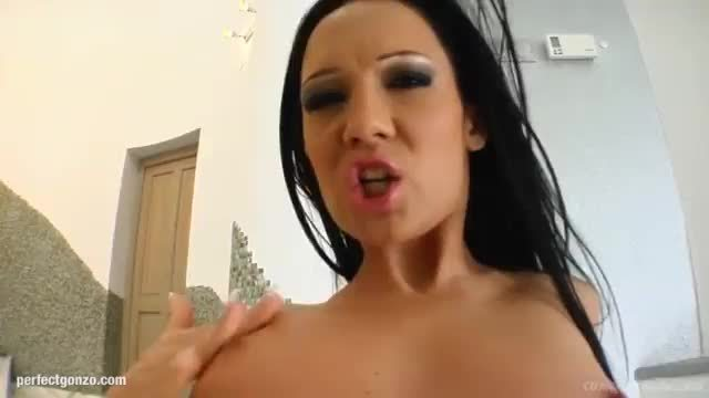 Blowbang group blowjob given by regina moon on cum for cover
