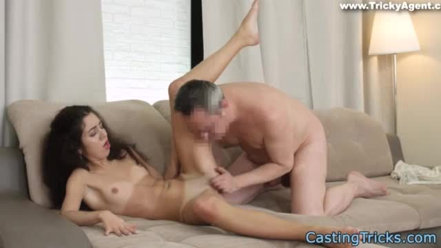 Pov screwed euro gets creampied at casting