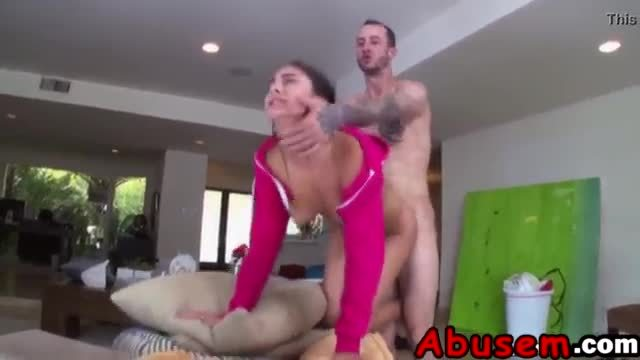 Nina north gets fucked hard by her horny tattooed man