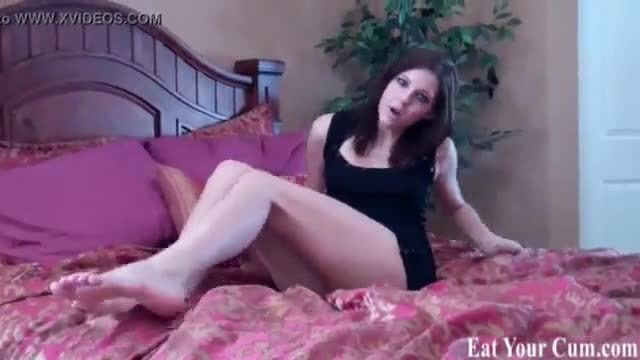 It turns me on when you eat your cum for me joi