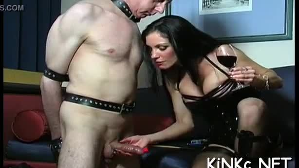 Unrestricted fucking includes femdom thrashing for dick