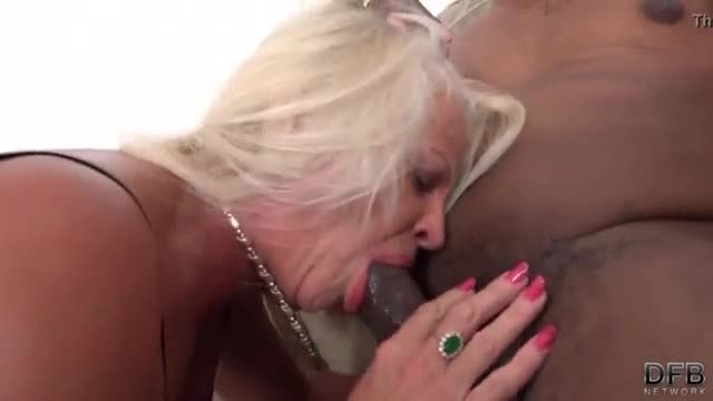 Grannies with big boobs love bbc interracial fucking and swallow hot cum