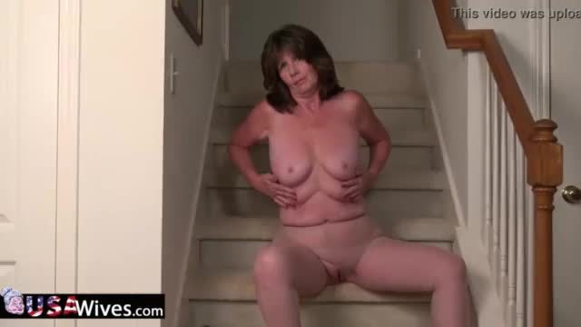 Usawives mature lady jade solo masturbation