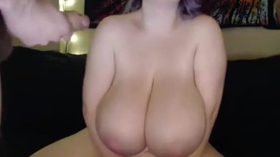 Cute large and adorable young girl with big tits